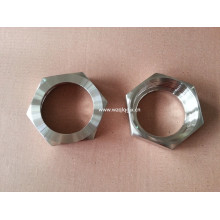 Sanitary stainless steel Fitting Hex Union Nut