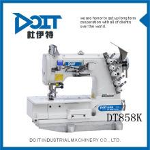 máquina de coser de enclavamiento de dobladillo en botton DT F858K