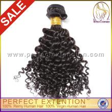 Excelente Qualidade 5a Grau Mongolian Kinky Curly Virgem Cabelo