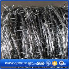 2017 hot new products galvanize barbed wire price per ton