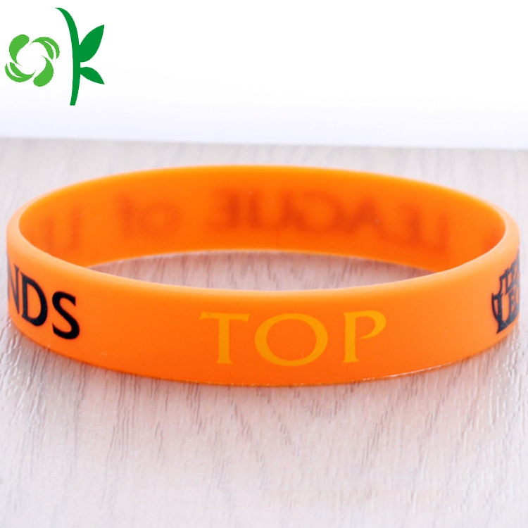 Orange Silicone Printing Bands