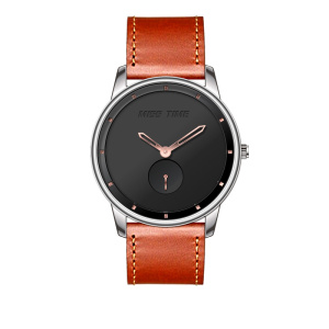 wholesalers 3atm  leather straps quartz watch