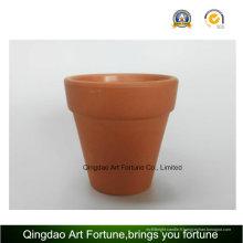 Bougeoir en céramique argile Outdoornatural-Medium