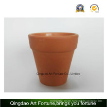Outdoornatural Clay Ceramic Candle Holder-Medium