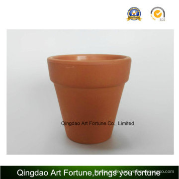 Outdoornatural Clay Ceramic Candle Holder-Medium