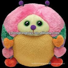 Sphère de design colorée mignonne joaillerie en peluche