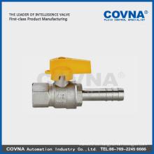 Válvula de gas angulada de la válvula de la válvula de la bola llena