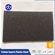 Plancher ignifuge de PVC de 3mm plancher sain et respectueux de l'environnement de PVC