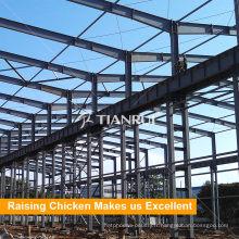 Conception de structure en acier hangar de ferme de volaille