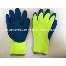 Защитная перчатка из латекса с акриловым вырезом