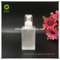 4oz essential oil bottle empty glass packaging square glass bottle glass lotion bottle