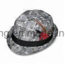 New Men′s Gentleman Fedora Hat, Sports Baseball Cap