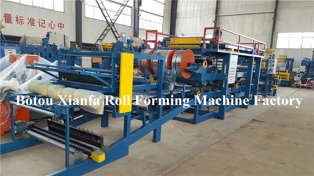 Botou Xianfa EPS sandwich panel production line 1