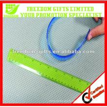 Règles flexibles personnalisées promotionnelles molles de PVC