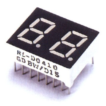 0,56 Iinch Dual Digit 7 Segment LED Display