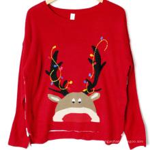 PK18A18YF suéter de Natal feio unisex