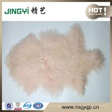 Wholesale Pure Tibetan Lamb Fur Sheepskin