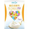 Yogur sano probiótico con culturas