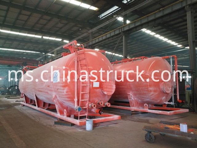 80000 100000 Liters Skip Chemical Pe Lining Storage Tank