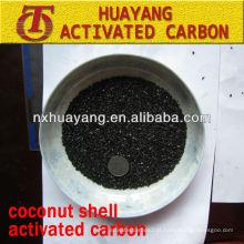Valor de iodo 950 mg / g de carvão ativado à base de coque de coco