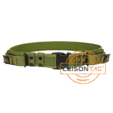 Cinturón de servicio de policía militar Norma ISO de nylon con bolsas (JYPD-NL24B)