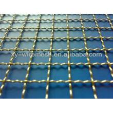 Malla de alambre prensada de acero inoxidable (VENTAS CALIENTES)