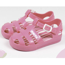 China wholesale Child anti skid jelly kids shoes toddler pvc summer cute baby clear jelly sandals