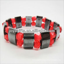 01B5002-3/new products for 2013/hematite spacer bracelet jewelry/hematite bangle/magnetic hematite health bracelets