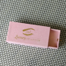 Customized+glitter+pink+eyelash+box