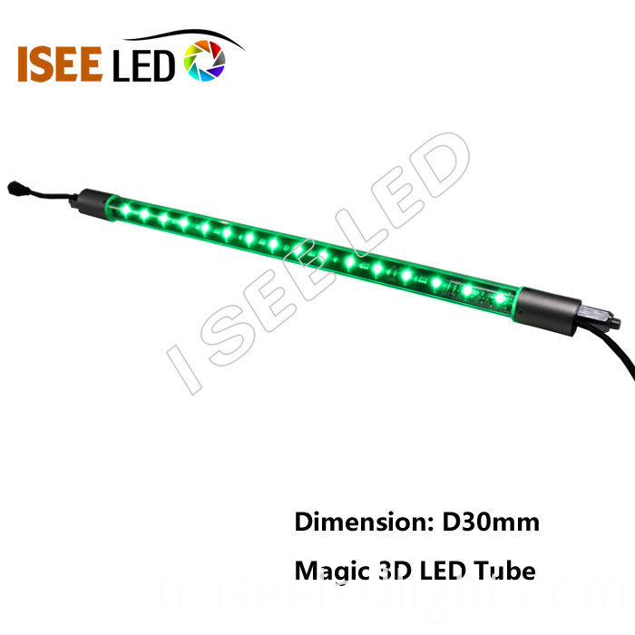 magic 3D LED RGB tube
