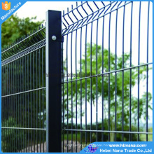Pvc coaed galvanized Welded Wire Mesh for garden fence ISO9001)