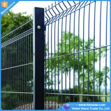 ПВХ coaed гальванизированная сваренная Ячеистая сеть для сада загородка ISO9001)