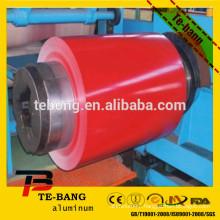 PE Painted colourful aluminum sheet coil