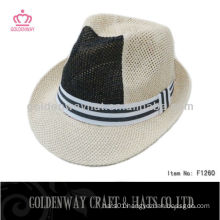 2014 Newest Fedora Sun Hat Paper cheap for wholesale
