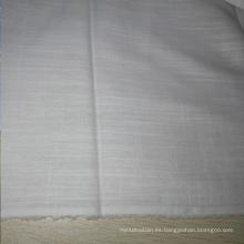 Algodón y lino / algodón Bunchy Yarn Fabric