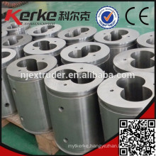Twin Extruder Bimetal Screw and Barrel for PE granulating Extrusion