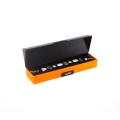 Boîtes d'emballage de bijoux orange