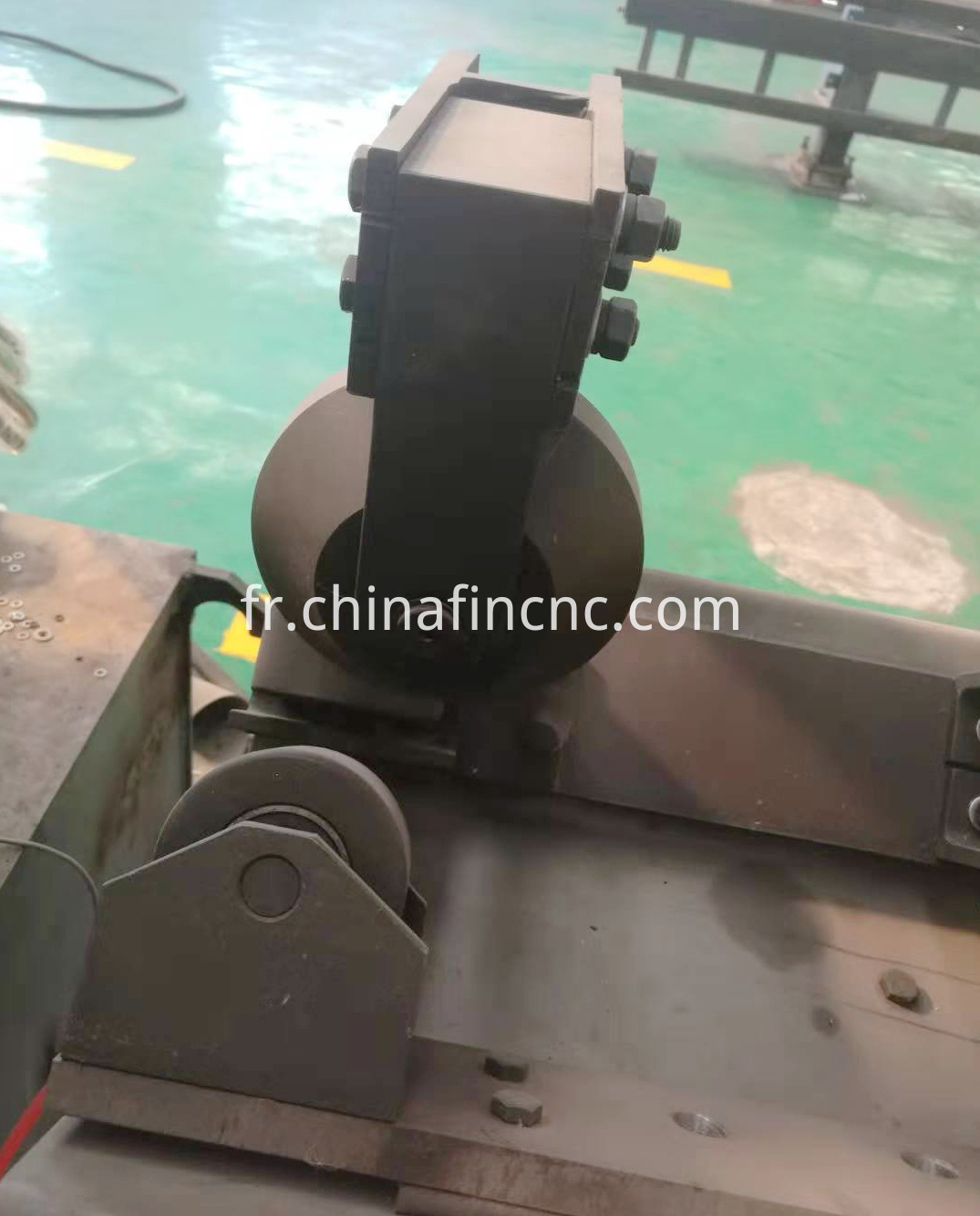 Steel stamping machine