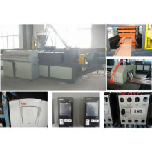 outdoor decking extrusion machine