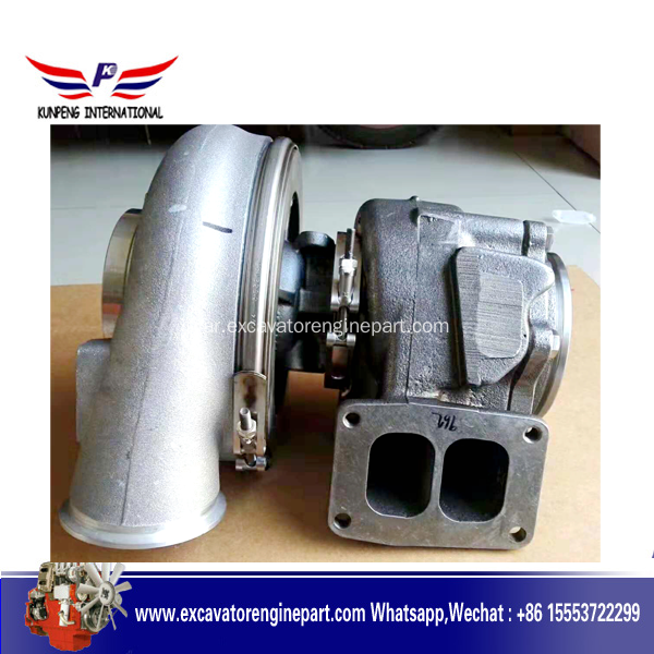 Volvo D12E Engine Parts شاحن توربيني EC700 الحفارات