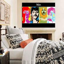 Impresión famosa de la pintura del retrato en la lona para el dormitorio