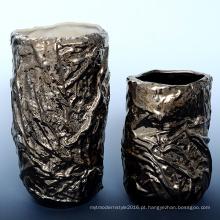 Galvanoplastia de cobre pequena cerâmica Decoração para casa (A1660)