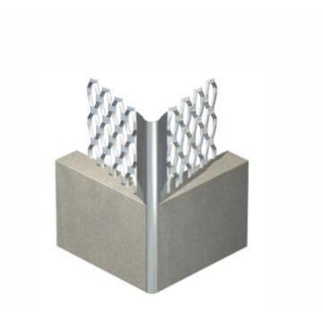 Expanded metal angle bead machine