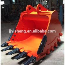 china factory supply doosan DH340 excavator rock bucket