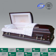 LUXES Wellington Funeral Caskets For Sale Walnut Wood Casket
