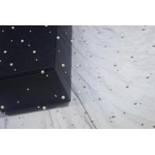 Nylon Mesh Fabric With Lulu and Diamond