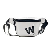 Customized Pu kids sports fashion wear belt bag candy color for children eco friendly waist bag