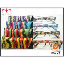 Gafas de lectura de gafas de plástico de moda de las señoras (MRP21677)