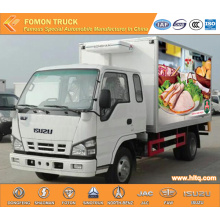 Japan Technology 3360mm 12m3 refrigerator mobile truck
