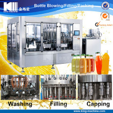 3-in-1 Automatic Juice Bottle Hot Filling Machine